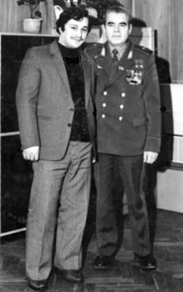 Х.М. Алиев. и А.Г. Николаев (Первый Заместитель Начальника ЦПК им.Ю.А